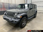 2019 Jeep Wrangler Unlimited Sport S 2019 Jeep Wrangler Unlimited Sport S, Clean Title, Repairable, Rebuilder #555996