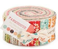 Farm House Jelly Roll 2025JR Quilting Patchwork Fabric