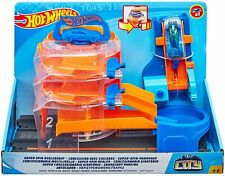 Hot Wheels Super Spin Dealership Play Set- New In Box