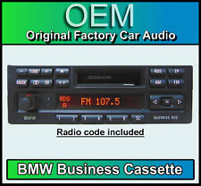 BMW 3 Series E36 Cassette player, BMW Business radio car stereo, with radio code