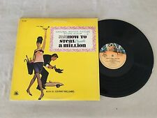 HOW TO STEAL A MILLION SPECIAL 1981 LIMITED 2Oth CENTURY FOX JAPAN REISSUE LP