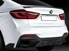 BMW f16 x6 M Performance stile Heck SPOILER SPOILER labbro ABS