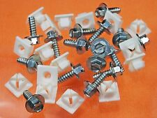 Mopar License Plate Screws & Nuts (Qty 32 Pcs) #1009