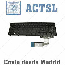 Keyboard Spanish for PC Notebook Compaq 15-h019ns (ENERGY STAR) With Frame