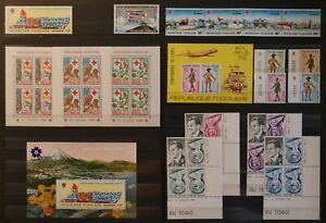 Weltweit:  Afrika / Togo.  Sammlung.  Postfrisch.