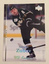 2007-08 Upper Deck Exclusives #075/100 Sergei Zubov #83 Hockey Card Nr/Mt