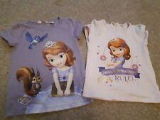 Kids Girls cartoni animati della Disney la principessa Sofia My Little Pony maniche lunghe Top,3 4 6 8