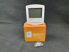 Heatmiser Slimline Digital Programmable Thermostat White V2