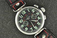 NICE RUSSIAN MOSCOW CLASSIC CHRONOGRAPH WRISTWATCH MODEL P3133 KEEPING TIME