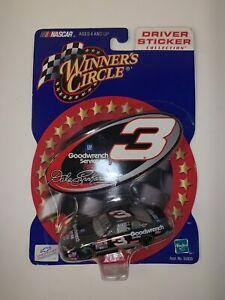 Winner Circle/ Dale Earnhardt- Driver Sticker Collection 1/64 Scale VTG Unop