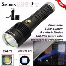 6000 Lumen Taschenlampe P70 4 Modi LED Flashlight Arbeits Lampe Leuchte18650
