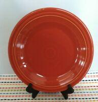 Fiestaware Paprika Dinner Plate Fiesta Retired Burnt Orange 10.5 inch Plate
