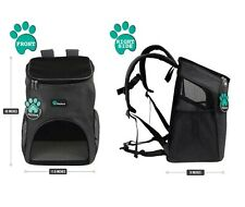 New listing PetAmi Premium Pet Carrier Backpack for Small Cats and Dogs, Grey - New