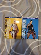 Tomb Raider 1 & 2 Blu Ray Steelbook