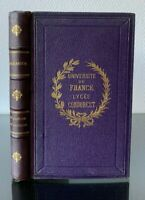 X. MARMIER - DU DANUBE AU CAUCASE VOYAGES ET LITTERATURE 1854 GARNIER FRERES