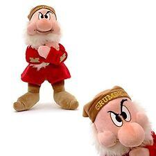 Disney Store BLANCHE NEIGE & LES SEPT NAINS 33 cm Grincheux Soft Plush Toy