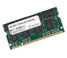 1gb di RAM Gericom BlockBuster Excellent 1780 333 MHz DDR memoria pc2700