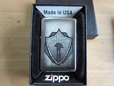Zippo US Army D-Day Normandie Invasion USMC Vietnam War Navy Marines WWII WK2