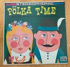 Its Polka Time Stanley Woslowski And The Polka Boys Vinyl