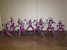 10x GI-Joe 30th Anniversaire renégats Cobra Ninja Viper Action figures HASBRO