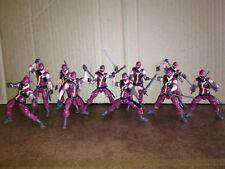 10x GI-JOE 30th ANNIVERSARIO RINNEGATI Cobra Ninja VIPER Action Figure Hasbro