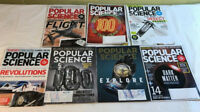 Popular Science Magazine  Lot of 7 – 2013 2014 2016 2017