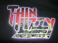Thin Lizzy Global Chaos 2003 Black Xl T Shirt Gorham John Sykes Marco Mendoza