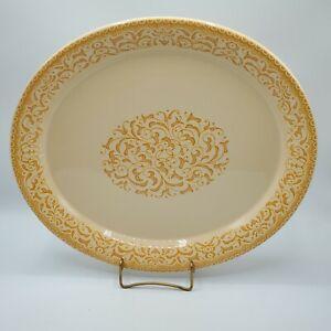"Franciscan GINGERSNAP 14"" Large Oval Platter NICE**"
