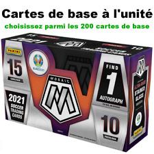 Panini MOSAIC EURO 2020 à l'unité - Base Cards (200) - Choose/Choisissez le n°