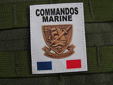 SNAKE PATCH - COMMANDOS MARINE - FRANCE FORCES SPECIALES - COS format GORE TEX