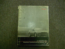 1987 Acura Legend Electrical Troubleshooting Manual FACTORY OEM 87 SPINE DAMAGE