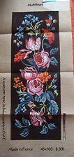 § grand canevas DMC MULTIFLEURS 45 x 100 cm