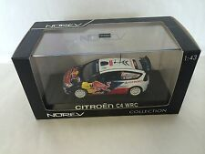 CITROEN C4 WRC WINNER RALLY DE PORTUGAL 2010 OGIER 1:43 NOREV REF. 155434
