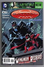 BATMAN INCORPORATED #4 CHRIS BURNHAM ART & COVER - THE NEW 52!