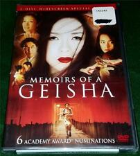 KEN WATANABE, MICHELLE YEOH, Memoirs of a Geisha, 2 DVDs, NEW