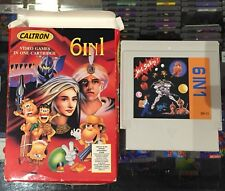 Caltron 6-in-1 ~ PAL VERSION ~ Nintendo Entertainment System NES ~ Cart & Box