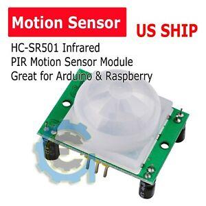 New HC-SR501 Infrared PIR Motion Sensor Module for Arduino Raspberry pi