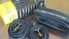 Vittoria Rubino PRO II Folding Tyre (700x23) Road Bike 120tpi (NEW) Black