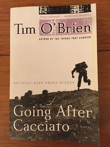 Going After Cacciato by Tim O'Brien Trade Paperback Novel