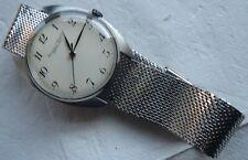 International Watch Co. IWC mens wristwatch steel case & bracelet load manual