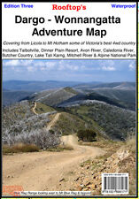 ROOFTOP'S DARGO - WONNANGATTA ADVENTURE MAP - CAMPING WALKING 4WD TRACK