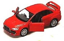 Mitsubishi Lancer Evolution EVO X 1:36 scale Red diecast rs gsr mr se sst NEW!