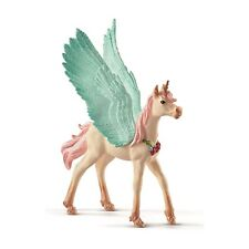 Schleich Decorated Unicorn Pegasus Foal Bayala Fantasy Figure NEW IN STOCK