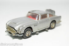CORGI TOYS 270 JAMES BOND 007 ASTON MARTIN DB5 DB 5 EXCELLENT CONDITION.