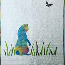 Barbara Persing Babyhood Bunny Elephant Fish and Flower Applique Quilt Pattern