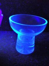 Vase Blue Crystal Glass