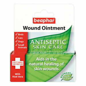 Beaphar Wound Ointment Antiseptic Skin Care For Dogs Cats & Small Animals 30ml