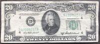 USA 20 Dollar 1950 B Federal Reserve Note D Cleveland Guter Zustand #9347