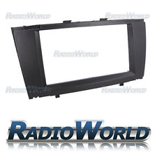 Toyota Avensis T27 Black Fascia Facia Panel Adapter Double Din Frame CT23TY12