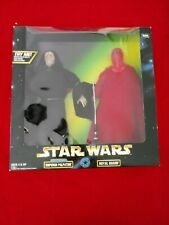 1998 STAR WARS ACTION COLLECTION  12 INCH FIGURES PALPATINE & ROYAL GUARD